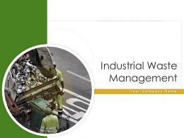 Industrial Waste Management Powerpoint Presentation Slides