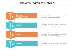 Industrial Wireless Network Ppt Powerpoint Presentation File Infographics Cpb