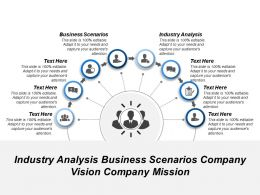 Industry Analysis Business Scenarios Company Vision Company Mission
