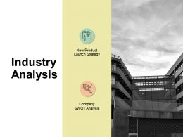 Industry Analysis Company Swot Analysis Ppt Powerpoint Presentation File Grid