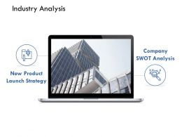 Industry Analysis New Product Launch Strategy Planning Ppt Powerpoint Presentation Idea