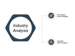 Industry Analysis New Product Launch Strategy Ppt Powerpoint Presentation Microsoft