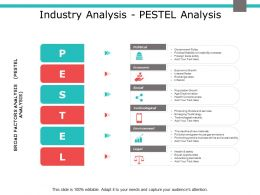 Industry Analysis Pestel Analysis Economic Ppt Powerpoint Presentation Model