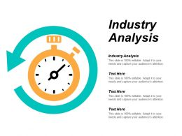 Industry Analysis Ppt Powerpoint Presentation Icon Outline Cpb
