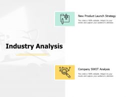 Industry Analysis Technology Planning Ppt Powerpoint Presentation Gallery Deck