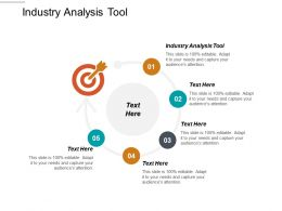 Industry Analysis Tool Ppt Powerpoint Presentation Pictures Elements Cpb