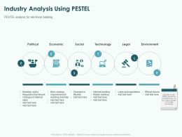 Industry Analysis Using Pestel Ppt Powerpoint Presentation Pictures Vector