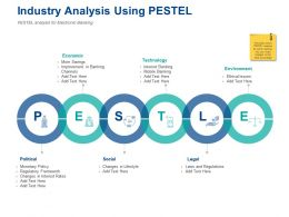 Industry Analysis Using Pestel Technology Ppt Powerpoint Presentation Styles Slides