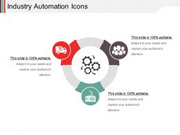 Industry Automation Icons Powerpoint Slide Rules