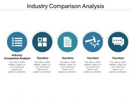 Industry Comparison Analysis Ppt Powerpoint Presentation Infographic Template Infographic Cpb