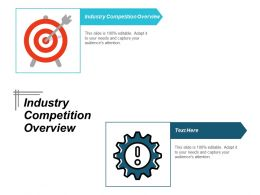 Industry Competition Overview Ppt Powerpoint Presentation Icon Pictures Cpb