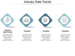 Industry Data Trends Ppt Powerpoint Presentation Ideas Backgrounds Cpb