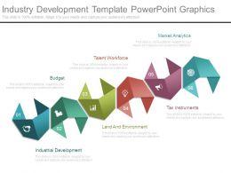 Industry Development Template Powerpoint Graphics