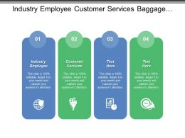 Industry Employee Customer Services Baggage Logistics Qualified Technicians