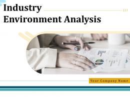 Industry Environment Analysis Powerpoint Presentation Slides