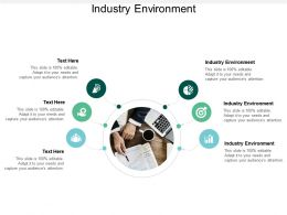 Industry Environment Ppt Powerpoint Presentation Model Visual Aids Cpb