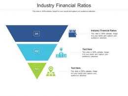 Industry Financial Ratios Ppt Powerpoint Presentation Show Infographics Cpb