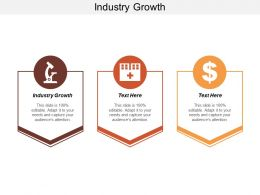 Industry Growth Ppt Powerpoint Presentation Inspiration Portfolio Cpb