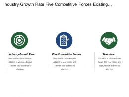 Industry Growth Rate Five Competitive Forces Existing Competitors