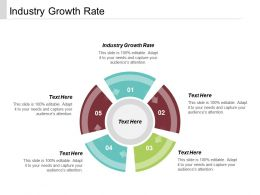 Industry Growth Rate Ppt Powerpoint Presentation Infographic Template Maker Cpb