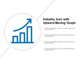 Industry Icon With Upward Moving Graph