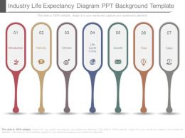 Industry Life Expectancy Diagram Ppt Background Template
