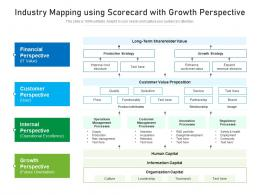 Industry Mapping Using Scorecard With Growth Perspective