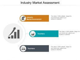 Industry Market Assessment Ppt Powerpoint Presentation Outline Design Inspiration Cpb
