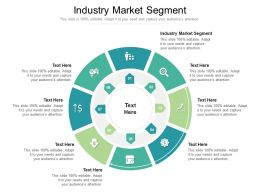 Industry Market Segment Ppt Powerpoint Presentation Summary Deck Cpb