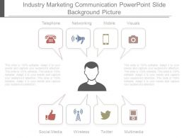 Industry Marketing Communication Powerpoint Slide Background Picture