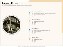 Industry Outlook Industry Drivers Ppt Powerpoint Presentation