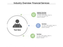 Industry Overview Financial Services Ppt Powerpoint Presentation Portfolio Cpb