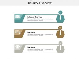 Industry Overview Ppt Powerpoint Presentation Gallery Slides Cpb
