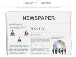 Industry Ppt Examples