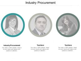Industry Procurement Ppt Powerpoint Presentation Infographic Template Themes Cpb