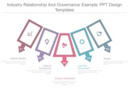Industry Relationship And Governance Example Ppt Design Templates