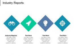 Industry Reports Ppt Powerpoint Presentation File Graphics Pictures Cpb
