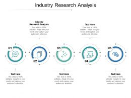 Industry Research Analysis Ppt Powerpoint Presentation Infographic Template Backgrounds Cpb