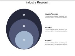 Industry Research Ppt Powerpoint Presentation Ideas Good Cpb