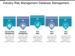 Industry Risk Management Database Management Risk Management Credit Risk Cpb