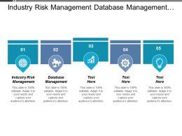 Industry Risk Management Database Management Risk Management Credit Risk Cpb