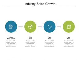 Industry Sales Growth Ppt Powerpoint Presentation File Outfit Cpb