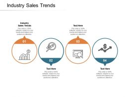 Industry Sales Trends Ppt Powerpoint Presentation Gallery Outline Cpb