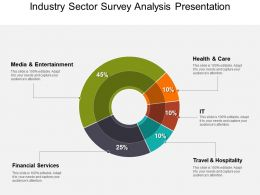Industry Sector Survey Analysis Presentation Powerpoint Templates
