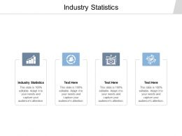 Industry Statistics Ppt Powerpoint Presentation Gallery Ideas Cpb