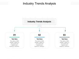 Industry Trends Analysis Ppt Powerpoint Presentation Portfolio Background Designs Cpb