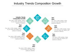 Industry Trends Composition Growth Ppt Powerpoint Presentation Ideas Grid Cpb