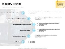 Industry Trends Ppt Powerpoint Presentation Summary Graphics Tutorials