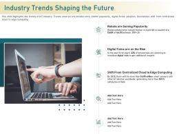 Industry Trends Shaping The Future To Expand Ppt Powerpoint Presentation Layouts Information