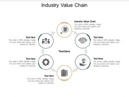 Industry Value Chain Ppt Powerpoint Presentation Inspiration Example Introduction Cpb